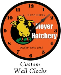 Custom Wall Clocks by Ohio Artist Terri Meyer