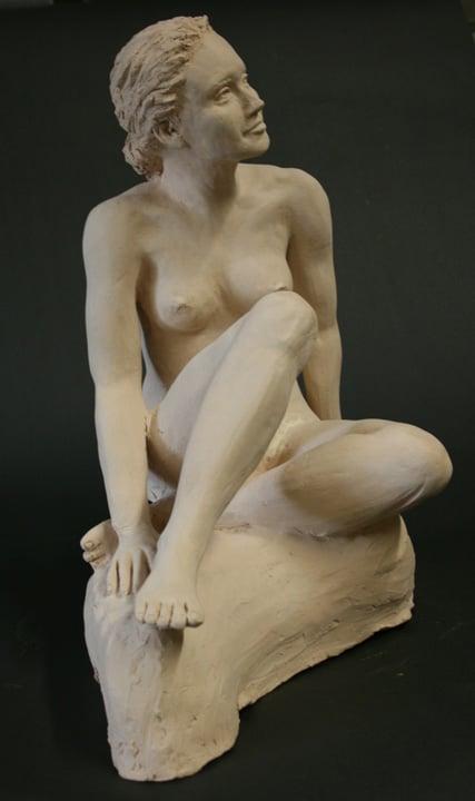 Figurative Sculpture by Ohio Artist Terri Meyer