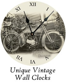 Unique Vintage Wall Clocks