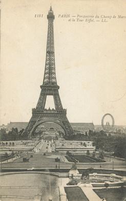 Vintage Eiffel Tower Wall Decor