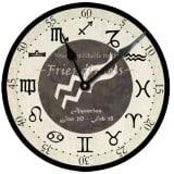 Aquarius Birthday Clock