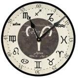 Aries Birthday Clock