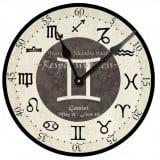 Gemini Birthday Clock