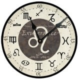 Leo Birthday Clock