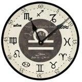Libra Birthday Clock