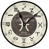 Pisces Birthday Clock