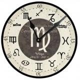 Virgo Birthday Clock