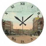 Ohio Postcard Clocks - Akron Ohio