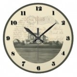 Ohio Postcard Clocks - Ashland Ohio Samaritan Hospital