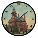 Ohio Postcard Clocks - Ashland Ohio Historic Jail