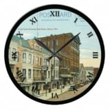 Ohio Postcard Clocks - Athens Ohio