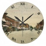 Ohio Postcard Clocks - Bellefontaine, Ohio