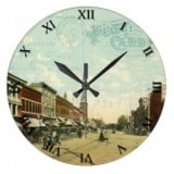 Ohio Postcard Clocks - Bellevue Ohio