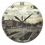 Ohio Postcard Clocks - Bucyrus Ohio