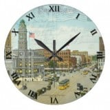 Ohio Postcard Clocks - Canton Ohio