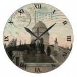 Ohio Postcard Clocks - McKinley Monument Canton Ohio