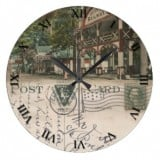 Ohio Postcard Clocks -Myers Lake Canton Ohio