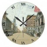 Ohio Postcard Clocks -West Tuscarawarus Canton Ohio