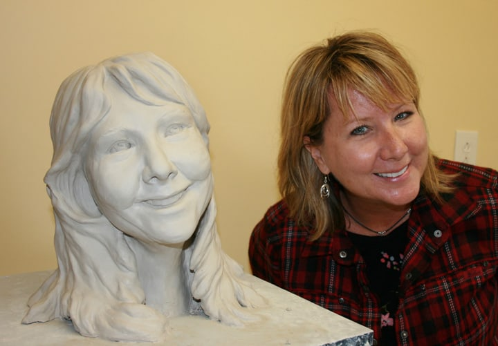 Portrait Sculpture of Gayle