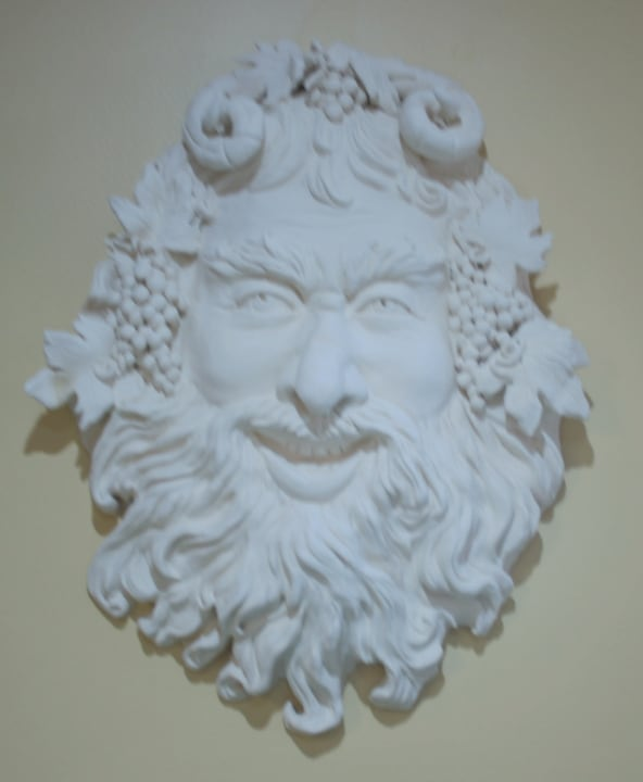 Bas Relief of Bacchus by Ohio Artist Terri Meyer