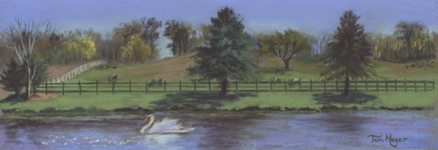 Rural Landscape Painting