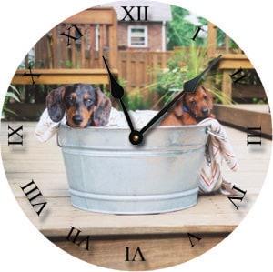 Custom Pet Clock