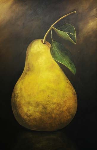 Pear Painting, Decorative Painting, Fruit Painting