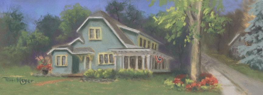 House Painting by Ohio Artist Terri Meyer