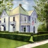 House Portrait Painting