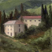 Tuscan Painting, Landscape Painting