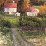 Farm Landscape Painting