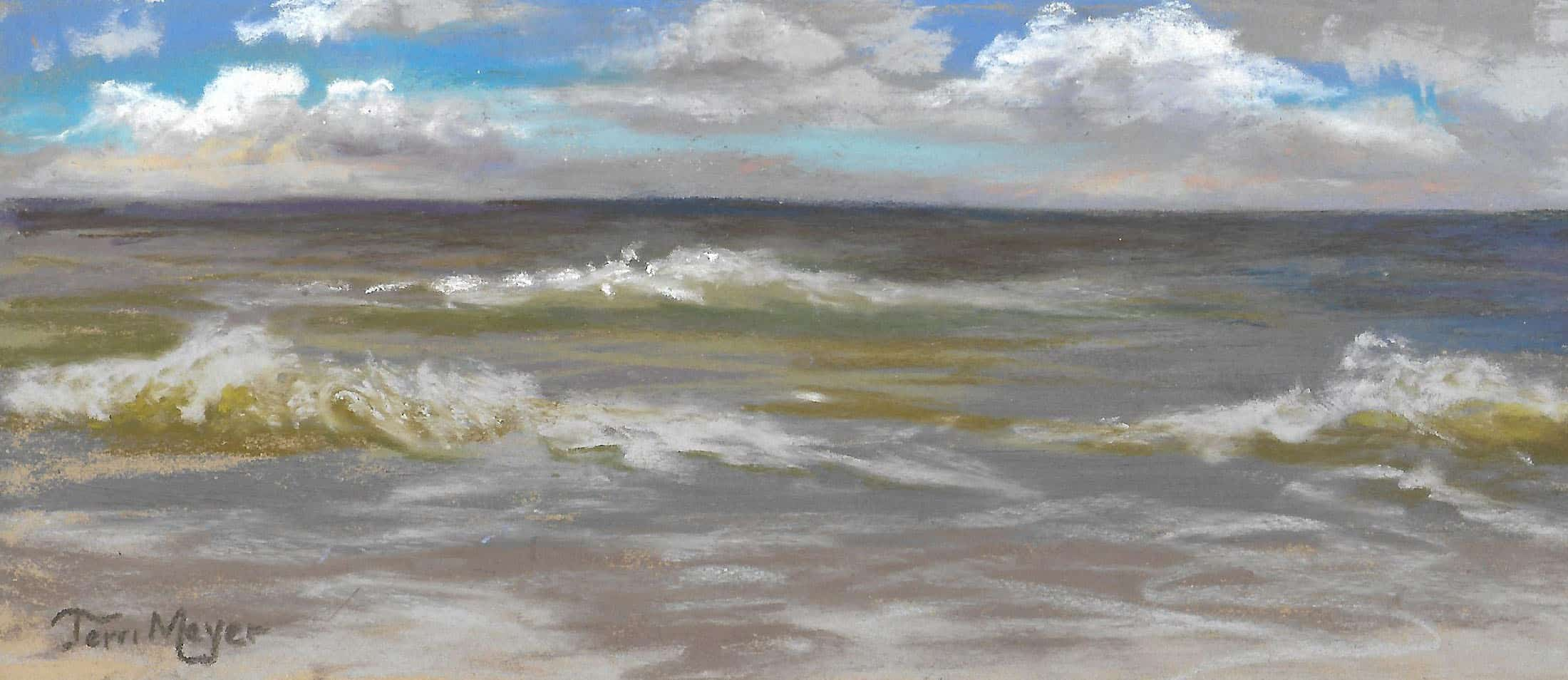 Nature Park, Myrtle Beach, SC - Plein Air Painting by Ohio Artist Terri Meyer