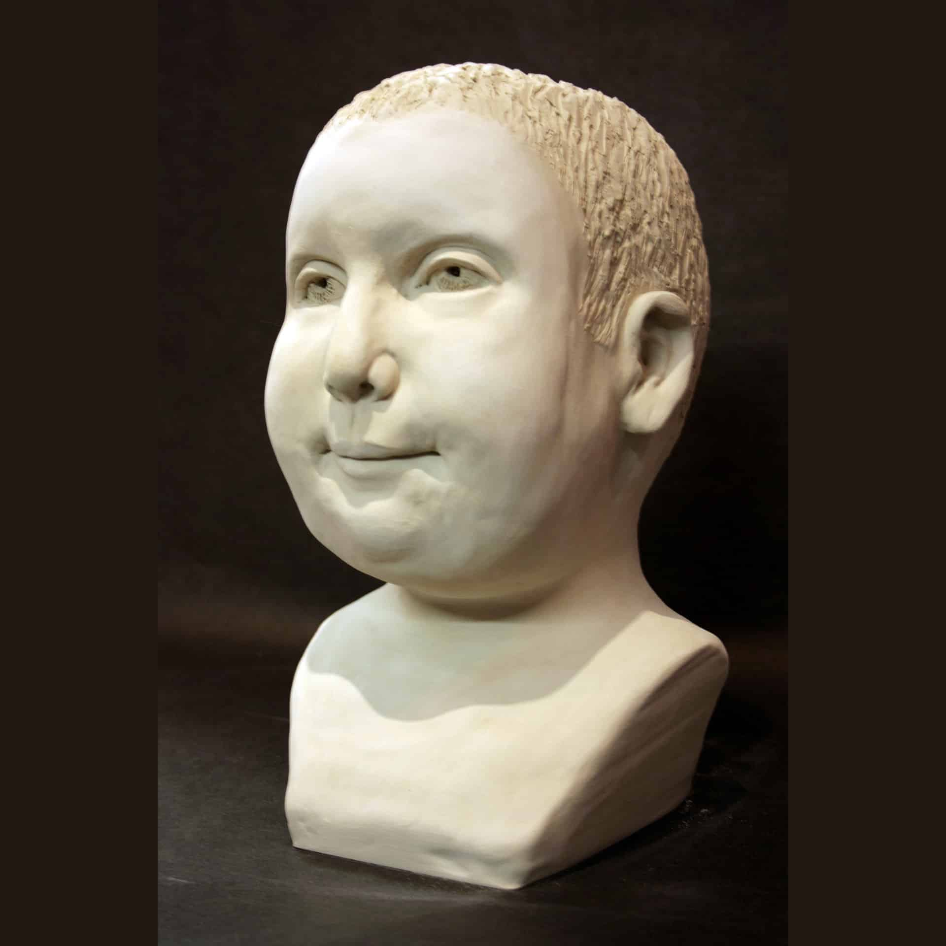 Portrait Sculpture of Given by Ohio Artist Terri Meyer