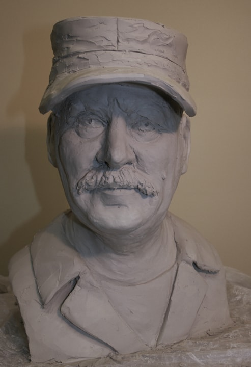 Portrait Sculpture by Ohio Artist Terri Meyer