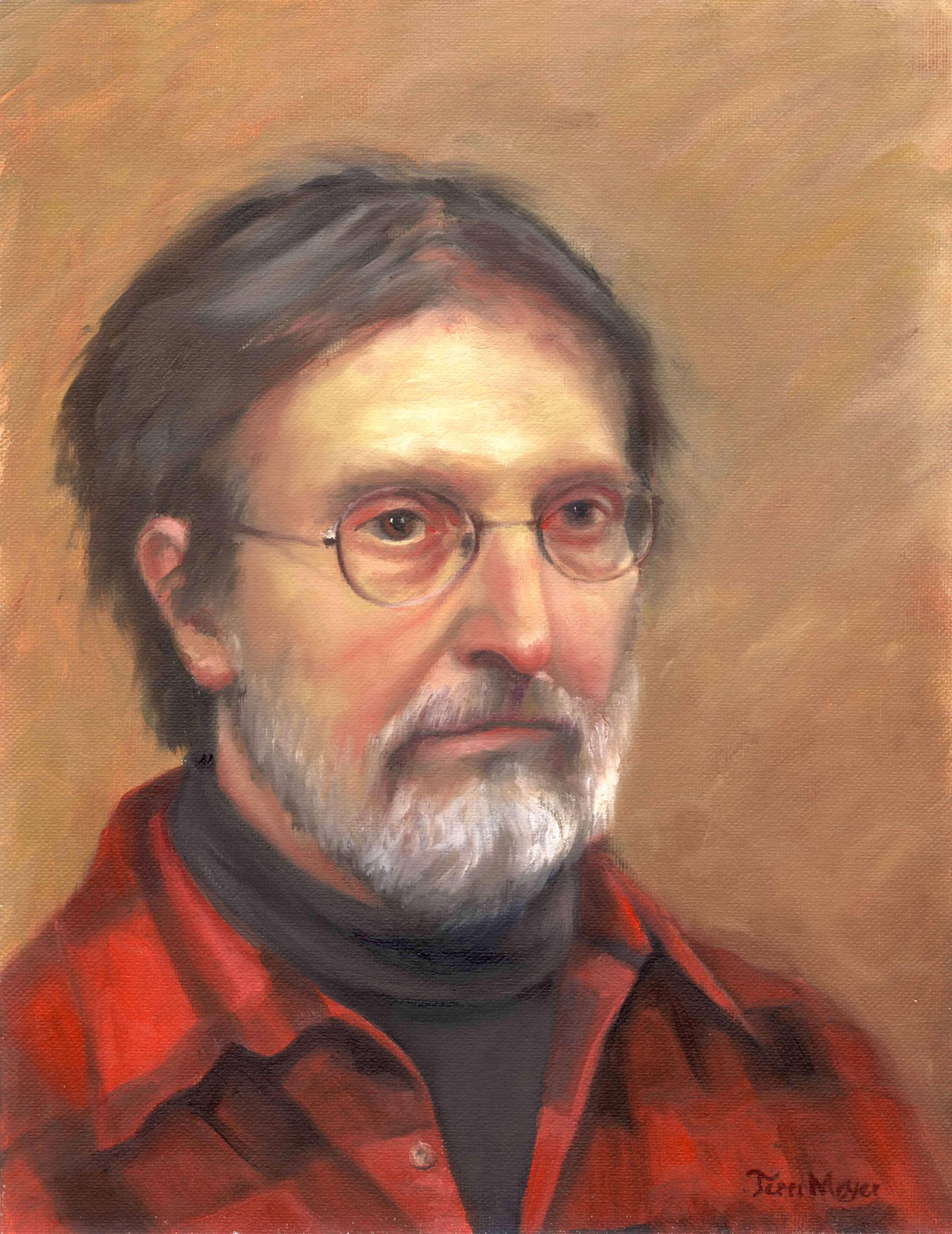 Portrait Paintings, Oil Portrait of a Man