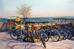 Decorative Painting, Bicycle Painting
