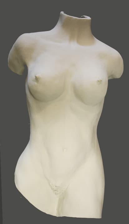 Female Bas Relief Sculpture by Ohio Artist Terri Meyer