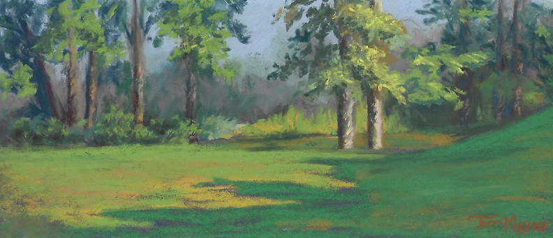 Country Landscape Painting by Ohio Artist Terri Meyer