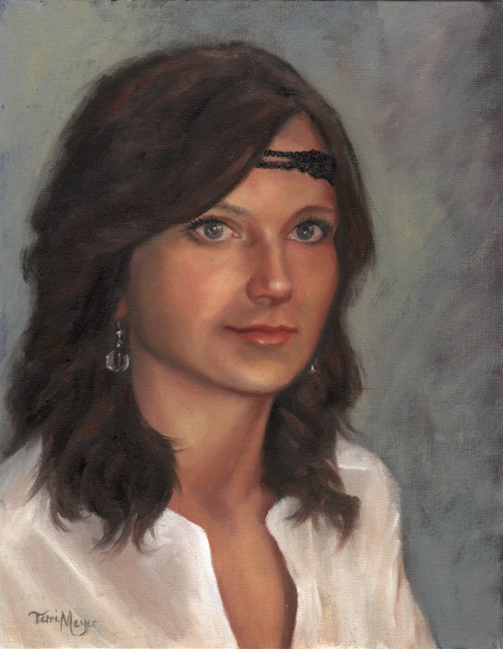 portrait painting, Oil Portrait Painting