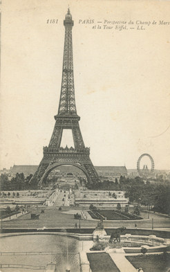 Eiffel Tower Clock Creative Chateau Art Studio