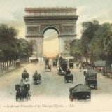French Vintage Wall Decor Products, L'Arc-de Triomphe