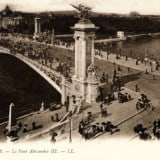 French Vintage Wall Decor -Le Pont Alexandre III