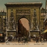 Vintage French Poster - Saint Denis Gate - Vintage French Wall Decor Products