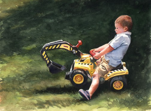 paintings of children, watercolor portraits, portrait paintings