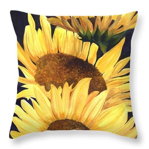 Sun Flower Pillow