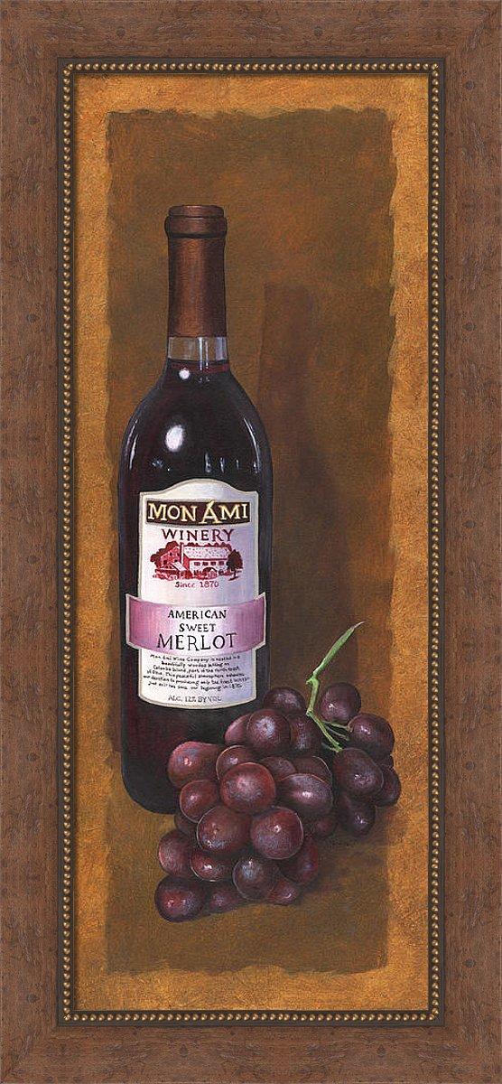 Framed Wine Art