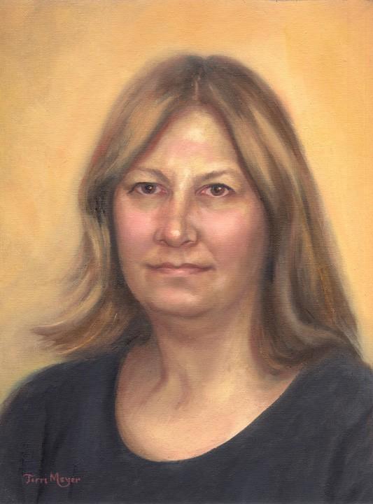 Portrait Painting by Artist Terri Meyer