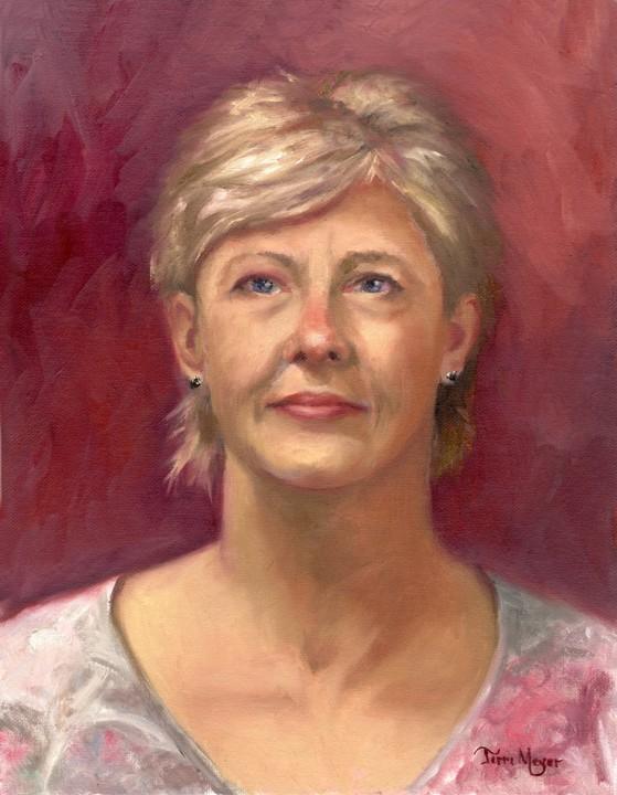 Portrait Painting by Ohio Artist Terri Meyer